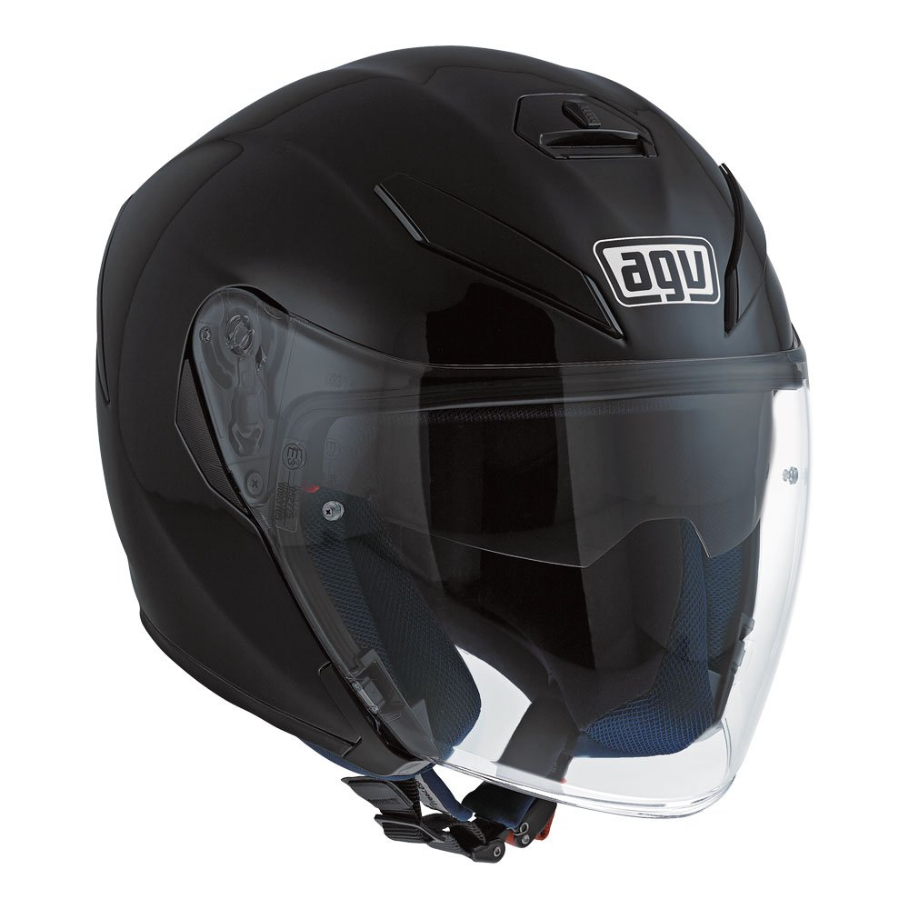 K5 Jet Matt Black Agv Helmets Australia